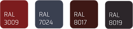 Sistem de jgheaburi si burlane culori
